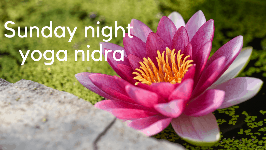 sunday night yoga nidra 1